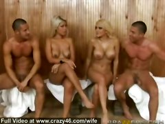 cumshot facial hardcore blonde milf blowjob mature wife group busty bigtits foursome groupsex pussyfucking reality swingers
