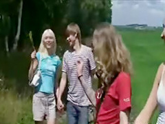 Teen Orgy Outdoors