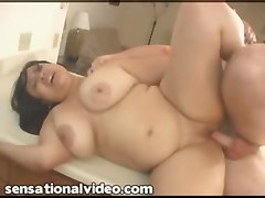 big tits bbw latina kitchen fucking dick pussy