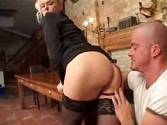 reality european blonde ass pussy ass licking pussylicking glasses lingerie panties hardcore anal doggystyle riding gaping ass to mouth cumshot facial tight stockings milf