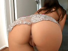 brunette  hot  sexy  babe  grey eyes  big ass  beautiful ass  lingerie  tease  posing  decorations  long hair  tanned  tattoo  home  cock ride  sofa  lick  heels  penetration  hardcore  fuck  sex  fucking  scream  harder  facial  cumshot