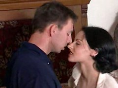 kissing teasing wet blowjob fingering pussylicking doggystyle riding anal big tits facial milf stockings hardcore tight lingerie close up brunette cumshot rubbing masturbation