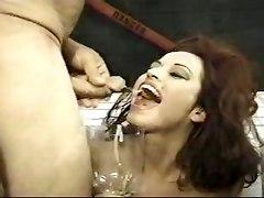bukkake groupsex pornstar piercing cumshot facial brunette milf big tits wet