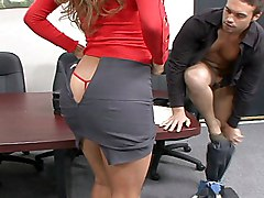 clothes off  panties off  lick  penetration  desk Monique Fuentes