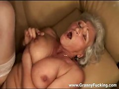cock riding hardcore blowjob granny