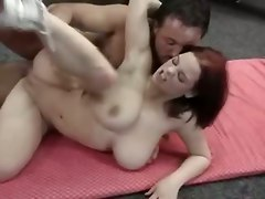 fucking tits boobs breasts jugs bounce pussylicking red head anal fingering big tits doggystyle cumshot facial pornstar