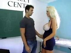 busty huge tits pornstars big tits milf cumshot tan lines titty fuck blowjob blonde
