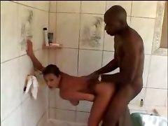 big tits bikini babe interracial big dick black asian blowjob wet rubbing pussy hardcore tight cumshot bathroom tattoo