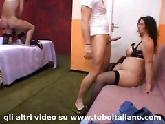 mature amateur italian fucking blowjob swingers bigtits 3some threesome