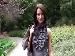 teen russian outdoor nudeart skinny long hair
