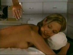 dildo lesbian oiled fingering pussylicking massage