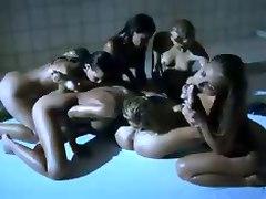 Hot Wet Lesbian Orgy