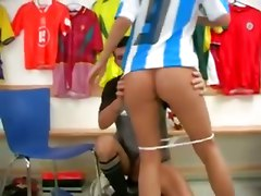sonia red teen soccer sport cumshot facial hardcore tight