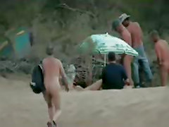 Beach Group Sex Public Nudity