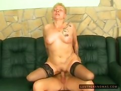 granny fingering stockings piercing toys blowjob