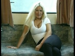 Blond Fucktruck BritishBig Boobs Classic UK Dogging MILF