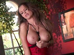 titty masturbation pussy fingering big boobs