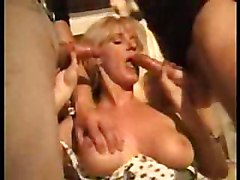 Hot mom fucks sons friend and her son