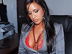 stockings  tanned  brunette  pussy  big tits  big ass  tits fuck  stockings  desk  slut  plump  office  masturbation  in clothes  big cock  sex at work  from behind Lexxy  Sergio