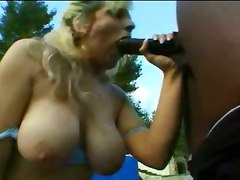 blonde big tits milf mature pornstar interracial kissing pussy wet rubbing blowjob teasing outdoor pool riding hardcore black anal doggystyle close up cumshot facial deepthroat orgasm