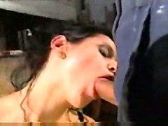 anal creampie blowjob brunette fingering boots asstomouth gape pussyfucking skirt
