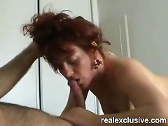 my beautiful wife licks each drop of my cum