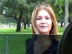 cumshot facial milf blowjob amateur wife public tatiana