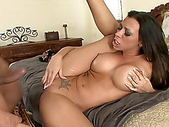 brunette  cock ride  bed  home  tanned  facial  cumshot Rachel Starr