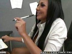 office sex ass licking big boobs hot brunette tits