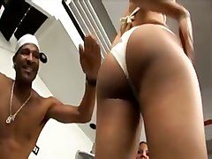 ebony foursome blowjob ass ghetto booty cumshot orgy pornstar