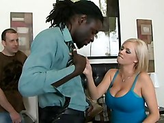 Black and Ebony Cuckold Interracial