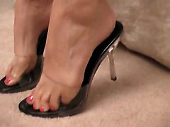 High Heels Foot Feet Footjob Tits Cock Shoes CumAmateur Big Boobs Feet
