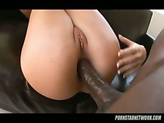 interracial pornstar heels raven big dick anal