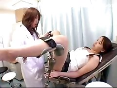 Girl Getting Enema To Her Asshole Asshole Licked Plugged By The Doctor At The Surgery