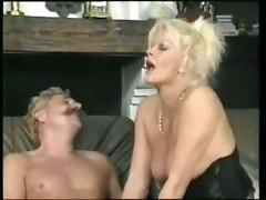 blonde  pornstar  blowjob  handjob  mature