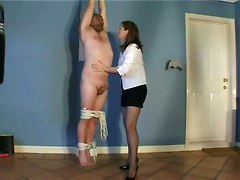 bdsm brunette blowjob handjob fetish amateur homemade cumshot teasing european milf bondage