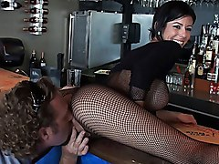 milf  brunette  big tits  miami  reality king  milf hunter  barmaid  fishnet  cock ride  from behind  tall  skinny  massive tits  pantyhose  lick  beautiful tits  table  fuck  sex  hardcore Alexis Fawx