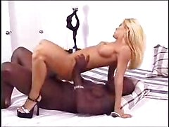 Big Black Dick For Little White Blonde