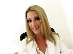 stockings cumshot facial hardcore blonde interracial milf blowjob handjob bigtits bigcock pussyfucking office