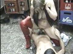 Classic German Boots Leather Piss OutdoorsGroup Sex Other Fetish Classic Piss