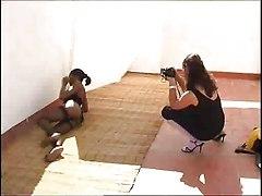 Black and Ebony Brunettes Lesbians