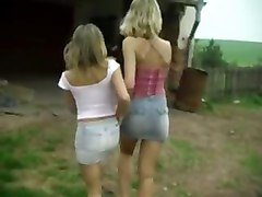 Sharon M And Romana Kunova Lesbian Teens