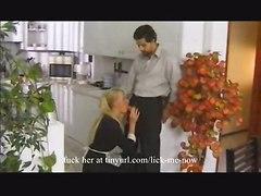 anal blonde ass blowjob young cuminmouth assfucked assfuck ball licking boss maid cim balls blond employee