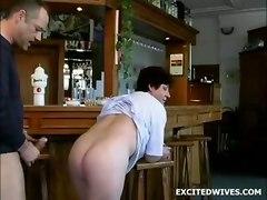 mature granny blowjob bar doggystyle