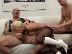 cum hot blonde double penetration facials blowjob