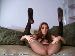 solo pantyhose feet jerkoff
