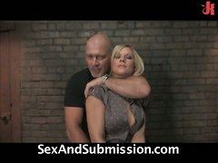 submission slapping whipping choking blonde bdsm spanking bondage toys blowjob tattoo kissing fingering doggystyle riding cumshot facial big tits fetish slave rough sex
