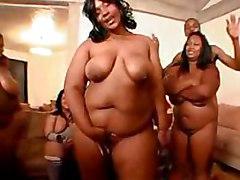 ebony black blackgirl bbw orgy group gangbang