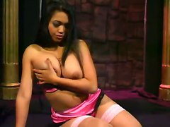 best solo strip tease dildo fingering syb mika tan