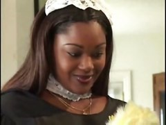 stockings cumshot black hardcore interracial blowjob titjob bigtits ebony blackwoman fat bigass pussyfucking whiteonblack maid bbw